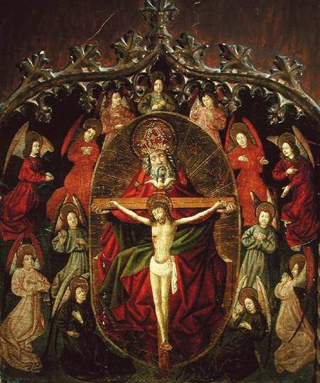 holy trinity explained art Catholic abc's week 3 number of the week: 3 theme: trinity memory verse- the glory be: glory be to the father, and to the son, and to the holy spirit, as it was in the beginning, is now and ever shall be, world without end amen.