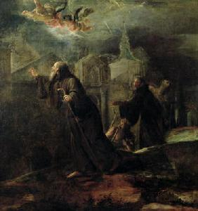 The Vision of St. Francis of Paola