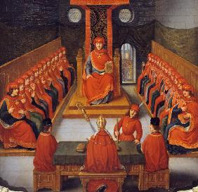 First meeting of the Order of the Golden Fleece held by Philip III the Good, Duke of Burgundy, 10 Ja