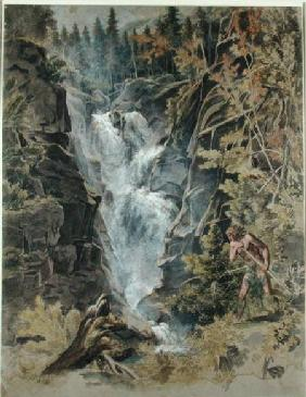 The Reichensbach Falls in Meiringen