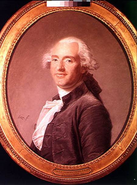 Jacques Alexandre Cesar Charles (1746-18 - Joseph Boze as art print or hand painted oil.