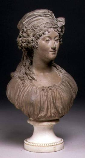 Bust of a young woman, in the Louis XVI Style