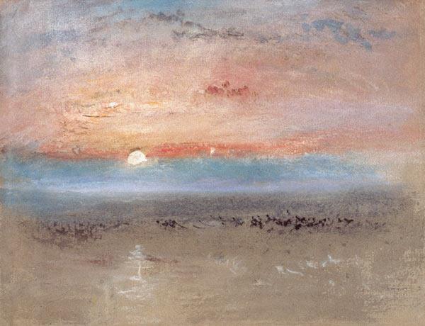 Sunset Joseph Mallord William Turner As Art Print Or