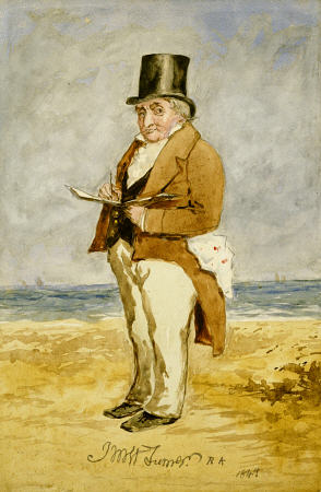 Portrait of William Turner as art print or painting