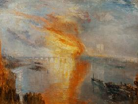 Turner, William : The Burning of the Houses ...