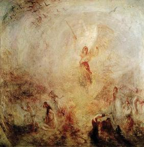 Turner, William : The angel in front of the ...