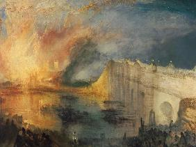 The Burning of the Houses of Parliament #1