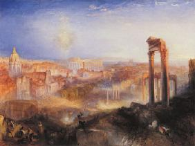 Turner, William : The modern Rome