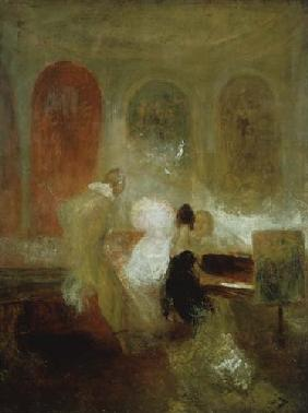 Turner, William : Music in East Cowes Castle