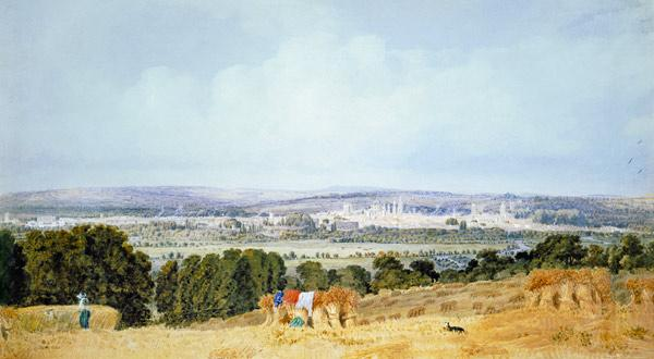 Turner, William : Oxford from Hinksey Hill