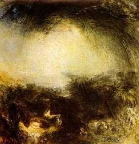 Turner, William : Shade and darkness - eveni...