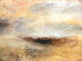 Turner, William : Seascape with Storm coming...