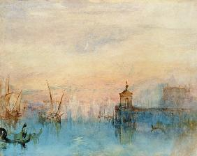 Turner, William : Venice with a first cresce...