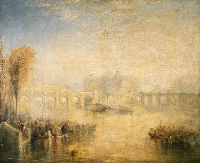 Turner, William : View of the Pont Neuf, Par...
