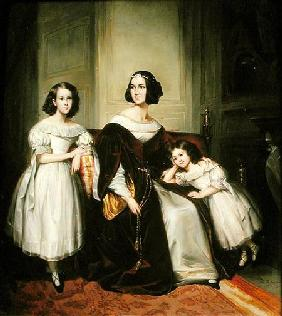 Madame de Nonjon and her Two Daughters