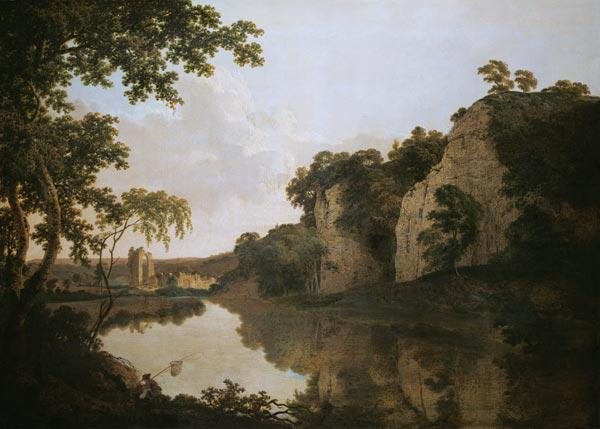 Wright of Derby, Joseph : Landscape with Dale Abbey