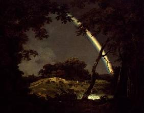 Wright of Derby, Joseph : Landscape with a Rainbow