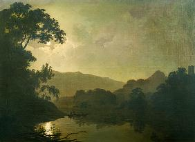 Wright of Derby, Joseph : Moonlight
