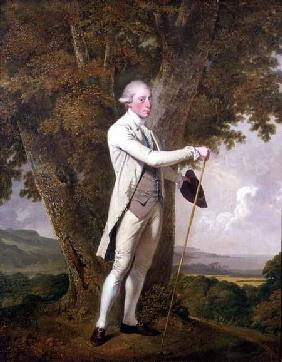 Portrait of John Milnes, 12th Duke of St. Albans (d.1810)