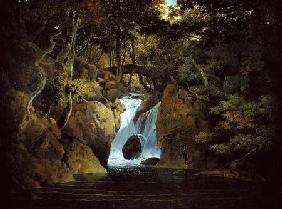 Wright of Derby, Joseph : Rydal Waterfall