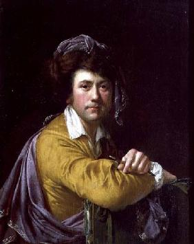 Self Portrait at the age of about Forty
