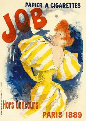 Ch�ret, Jules : Poster for job cigarettes