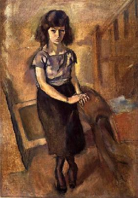 Pascin, Jules : Standing Young Woman