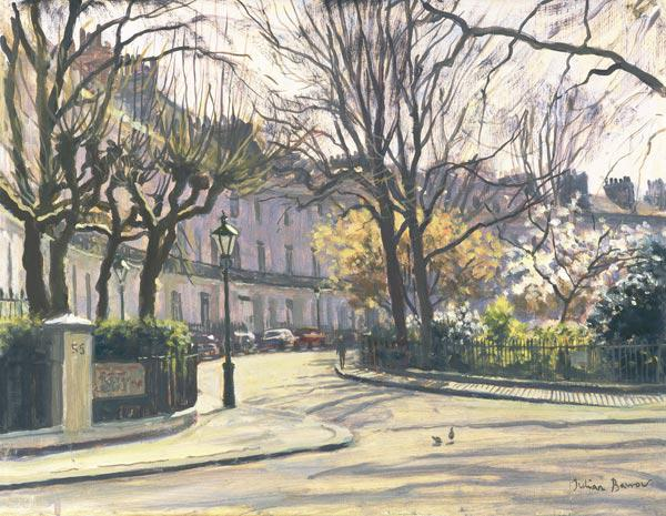 Egerton Crescent, London (oil on canvas)