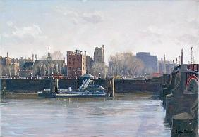 Lambeth Palace (oil on canvas)