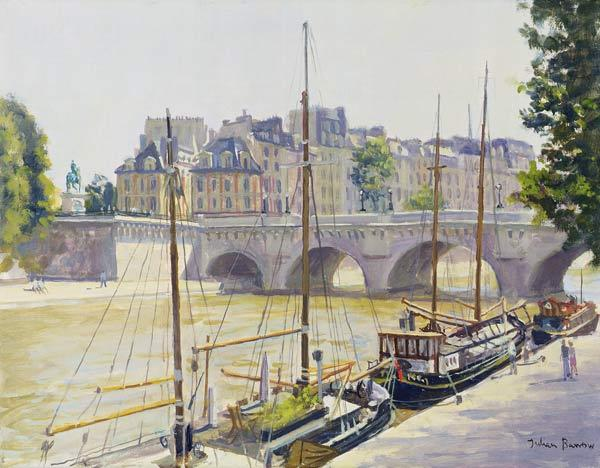 Pont Neuf (oil on canvas)