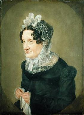 Katharina Oldach, the Aunt of the Artist