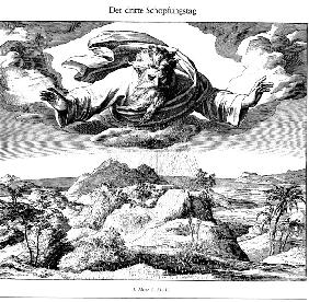 The Third Day of Creation (From Die Bibel in Bildern)