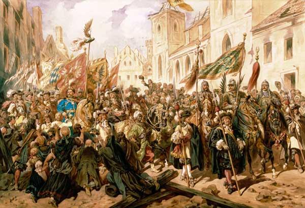 Move Of The Jan Iii Sobieski In Vienna Juliusz Kossak