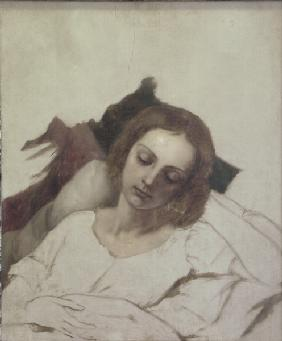 Veronika Begas on Death Bed