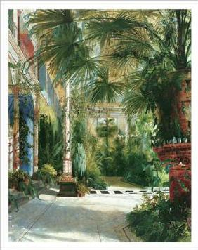 Blechen, Karl Eduard Ferdinand : The Palm House - (BLK-01S)