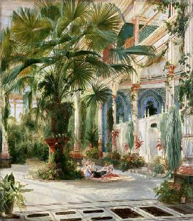 Interior of the Palm House at Potsdam