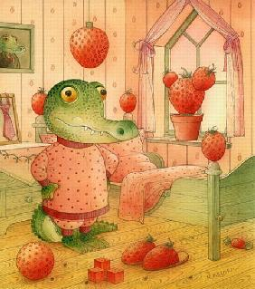 Kasparavicius, Kestutis  : Strawberry Day, 2006 (w/c ...