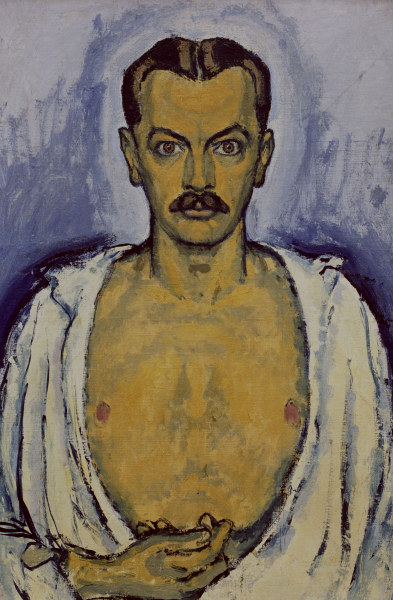 Koloman Moser Self Portrait Koloman Moser As Art Print