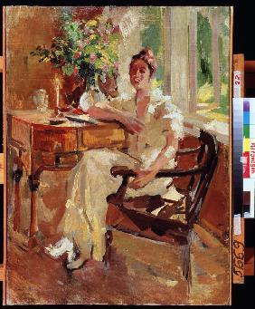 A Lady in an Armchair