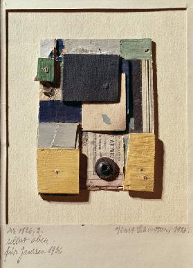 Collage, 1936 (mixed media)