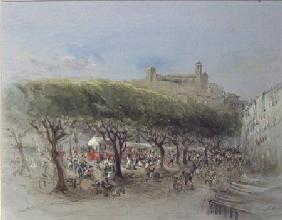 Lady Honoria Cadogan - The Market, Cannes
