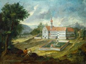 The Ochsenhauser caring castle into pine forest home (Swabia)