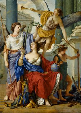 Allegory of the Regency of Anne of Austria (1601-66)