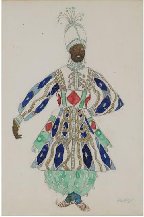 "Costume design for the revue ""Aladin, or the Wonderful Lamp"""