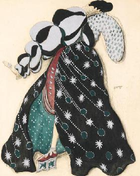 "Costume design for the Ballet ""La Légende de Joseph"" by R. Strauss"