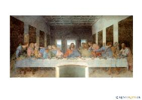 Postcard: The last supper