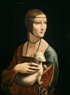 Lady with an Ermine (Cecelia Gallerani) um 1490
