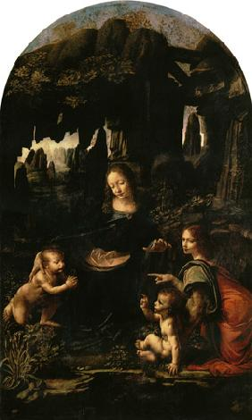 Madonna in the rock grotto (first setting) 1482