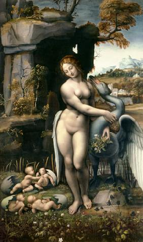 Leda with the swan um 1508-15