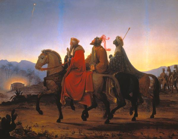 Kupelwieser, Leopold : The sacred three kings at ...